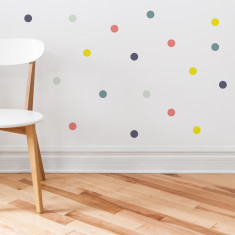 Party Circles wall sticker