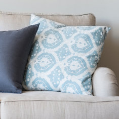 Sea mist cushion