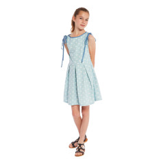Girls' sundress in spotto
