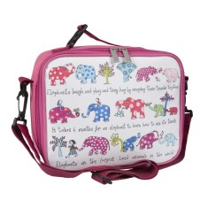 Tyrrell Katz Elephants insulated lunch bag