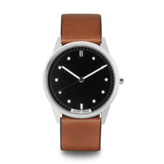 Hypergrand 01 classic watch silver black