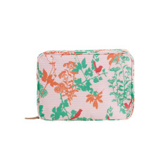 Red wren large toiletry bag