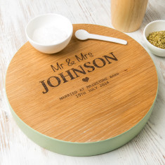 Personalised Wooden Wedding Gift Board