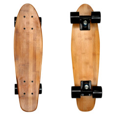 Wood penny skateboard