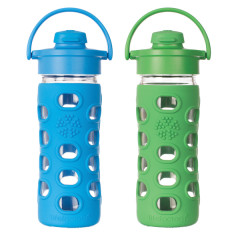Lifefactory glass bottle 12oz flip top