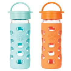 Lifefactory glass bottle 12oz loop cap