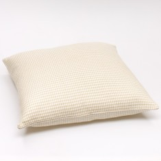 Sway cushion cover in cream