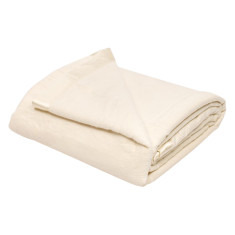 Ermelinda bamboo blanket in cream