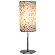Silver sakura handmade table lamp