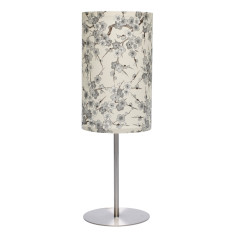 Beige & grey ume handmade table lamp