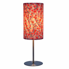 Pink sakura handmade table lamp