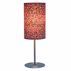 Gold & pink ume handmade table lamp