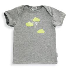 Holiday t-shirt in grey marle
