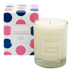 Candle in tuberose