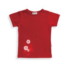 Lollipop tree t-shirt in red