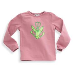Splat t-shirt in dusty pink