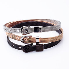 Buckle bracelet in silver, rose gold or black by Torini