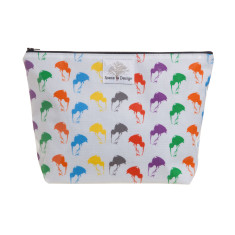 Kiwi splendour large toiletry bag