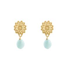 Jungle flower earrings