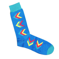 Lafitte blue arrow socks