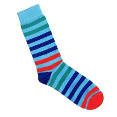 Lafitte sky stripe socks