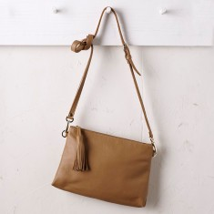 Annette cross body bag in tan