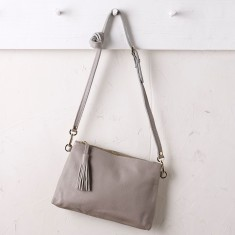 Annette cross body bag in grey