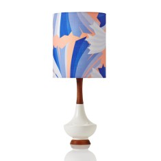 Electra table lamp in small ziggy dusk