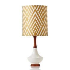 Electra small table lamp in Harlow Gold