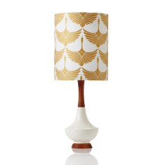 Electra small table lamp in Swan