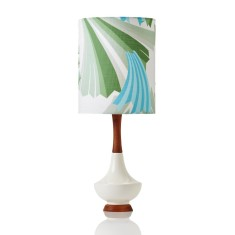 Electra small table lamp in ziggy sage