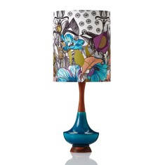 Electra table lamp large in Botanica Lotus