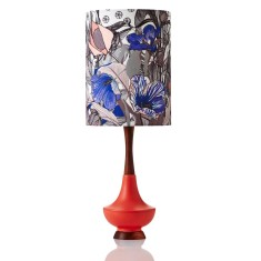 Electra table lamp large in Botanica Lily