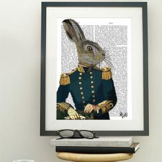 Lieutenant hare book print