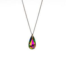 Swarovski teardrop pendant