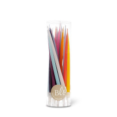 Tube of 20 birthday candles