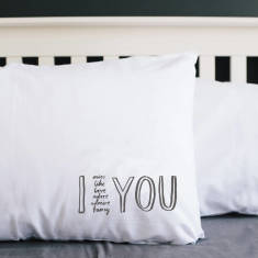 I adore you pillowcase