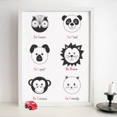 Animal personality print