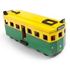 Iconic toy tram