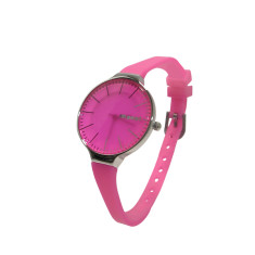 MONOL Denmark 1G watch in deep pink