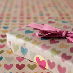 Full of hearts wrapping paper