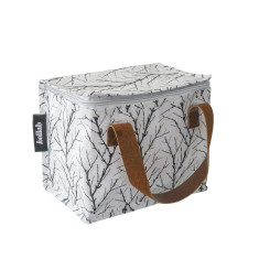 Insulated lunch box bag in twigs