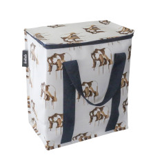 Large insulated picnic bag in Maku bear print