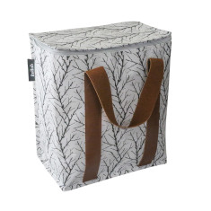 Large insulated Cooler bag in twigs print