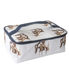 Bathroom bag in Maku bear print