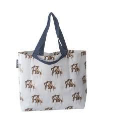 Shopper bag in Maku bear print