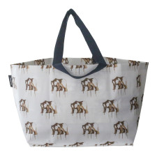 Large neverful bag in Maku bear print