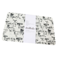 Pretty much print placemat (set of 4)