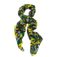Hunter scarf in camo multi