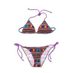 Cleo Aztec triangle bikini